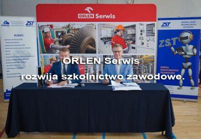 ORLEN Serwis rozwija szkolnictwo zawodowe