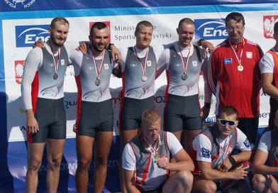 Srebrny medal wioślarzy na Mistrzostwach Polski Seniorów