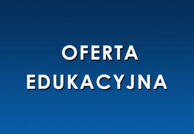 Oferta edukacyjna na rok szkolny 2020/21